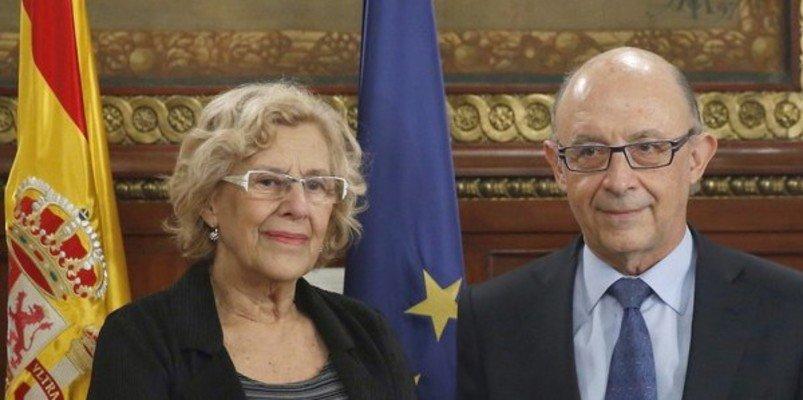 Montoro controlará desde ahora hasta el último euro que se gasten Carmen y los de Podemos en Madrid