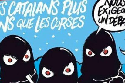 """Charlie Hebdo: """"Los independentistas catalanes no quieren soltar dinero a las otras regiones menos ricas"""""""