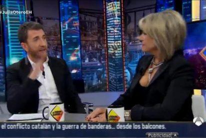 'El Hormiguero 3.0': Julia Otero: «La mitad de los ciudadanos no contamos para nada para el gobierno de la Generalidad»