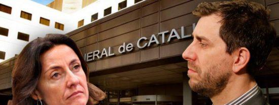 Ciudadanos contra golpistas en Sant Cugat del Vallés