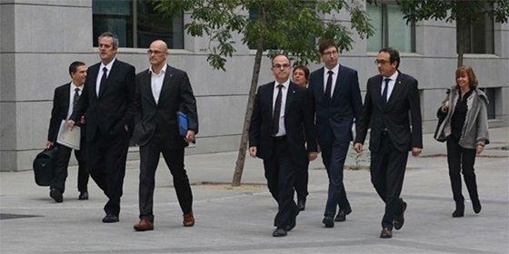 La Fiscalía pide prisión para Oriol Junqueras y los exconsellers, excepto Santi Vila