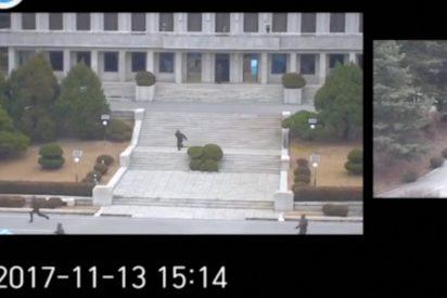 [VIDEO] Así desertó un soldado de Corea del Norte bajo el fuego 'amigo'