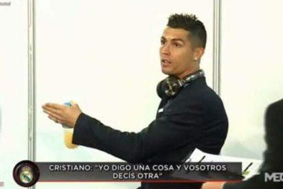 Cristiano Ronaldo echa un broncazo a los chicos de la prensa tras el 0-6 del Apoel-Real Madrid