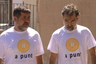 La Audiencia Nacional mantiene en prisión a los 'golpistas' Jordi Sànchez y Jordi Cuixart