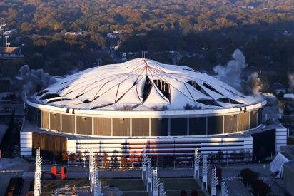 Así desapareció el Georgia Dome