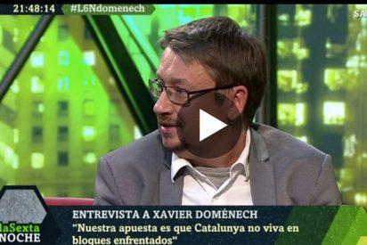 """'La Sexta Noche': Xavier Domènech: """"No elijo pactar con ERC y PSC, nosotros salimos a ganar"""""""