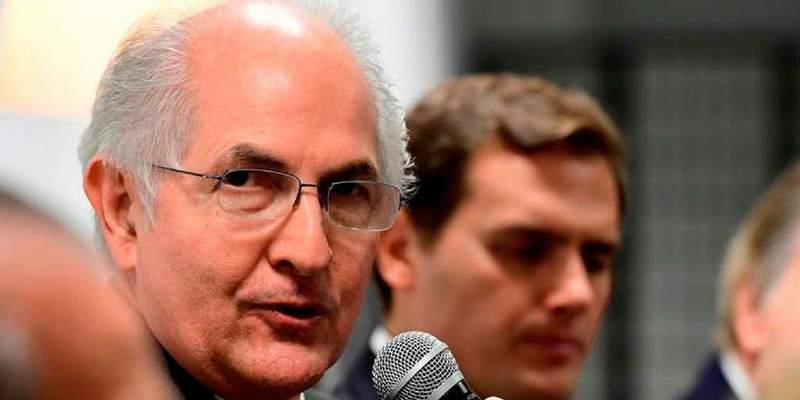 El opositor Antonio Ledezma presenta en Madrid la plataforma 'Soy Venezuela'