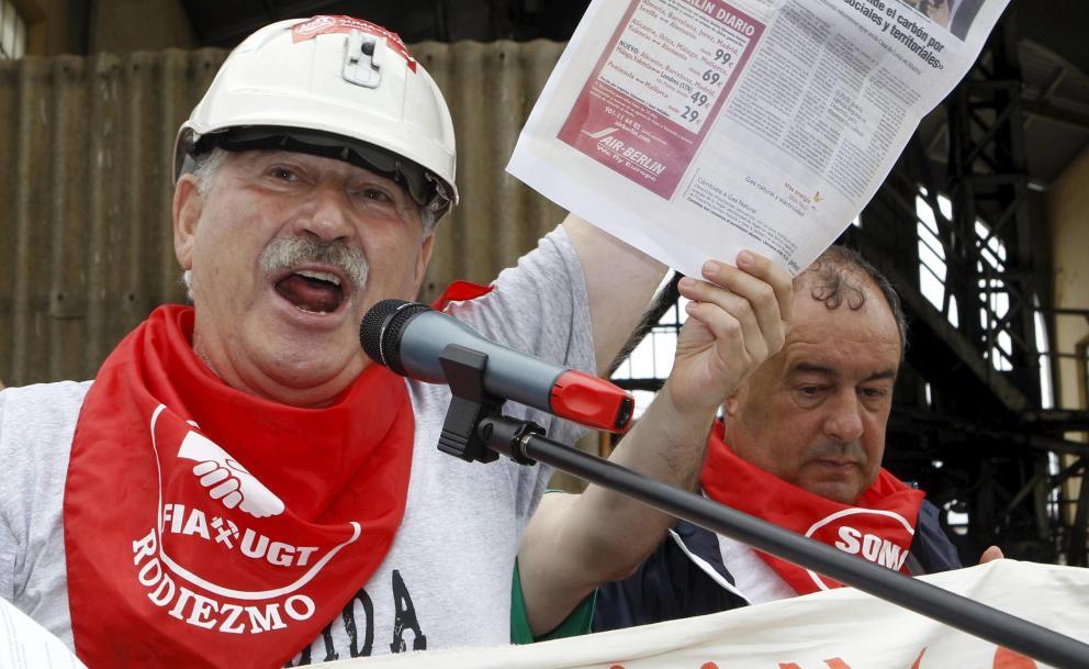 UGT: El sindicalista Fernández Villa guarda un millón de euros en bancos