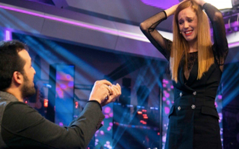 'El Hormiguero 3.0': El novio de María Castro le pide matrimonio en directo