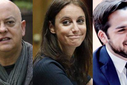 Elorza, Levy y Páramo se chotean en la cara de un 'Pedecato' por su enésimo cambio de nombre para el 21-D