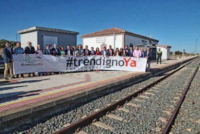 Consiliarios de Acción Católica, por un tren digno y justo en Extremadura