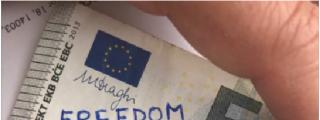 ¡Ojo a tu cartera! Puedes tener billetes marcados por los separatistas