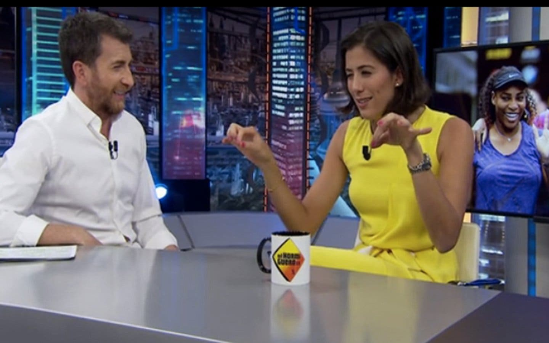 'El Hormiguero 3.0': Garbiñe Muguruza confiesa que Serena Williams es más intimidante que Venus