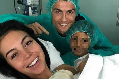 Cristiano Ronaldo es padre por cuarta vez