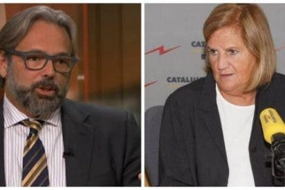 """Andanada contra España en Catalunya Radio: """"¡Encarcelan al gobierno legítimo catalán y todas sus manifestaciones acaban en violencia!"""""""