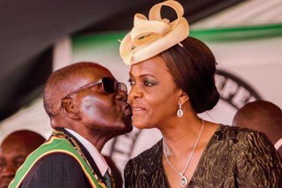 Así es «Gucci Grace», la ambiciosa esposa de Mugabe que vive a todo lujo