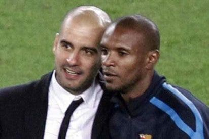 Eric Abidal desvela que Pep Guardiola le abroncaba por hablar en francés