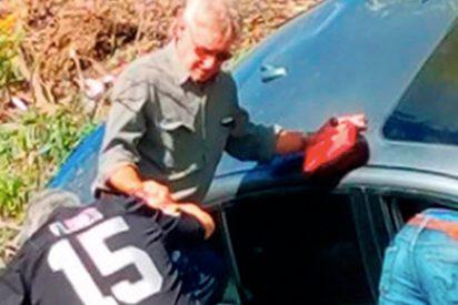 Harrison Ford rescata a una mujer atrapada en su vehículo tras sufrir un accidente de tráfico