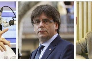 """Carlos Herrera destroza a los """"imbéciles"""" que se creyeron que Vueling expulsó a dos mujeres por hablar catalán"""