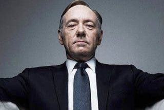 Y ahora resulta que Kevin Spacey era el 'gran depredador sexual' de House of Cards