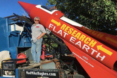 Este es el americano que se lanzará en un cohete casero para demostrar que la Tierra es plana