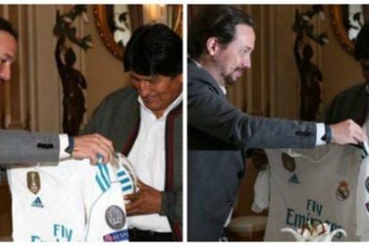 La tremebunda imagen que deja a Pablo Iglesias en fuera de juego y como un mentiroso redomado