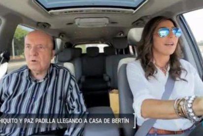 Paz Padilla se derrumba en 'Deluxe' y revela la verdad sobre Chiquito