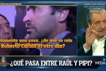 "La amenaza de Josep Pedrerol y Pipi Estrada sobre ""la verdad"" respecto a Raúl González"