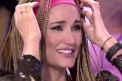Alba Carrillo protagoniza en 'Sálvame' su instante más vergonzoso en televisión.