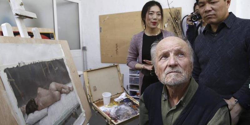 La Policía encuentra una obra de Antonio López en un tugurio de venta de droga en Madrid