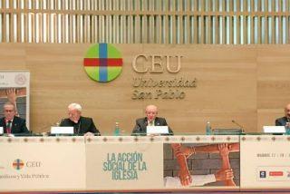 """El Papa bendice el XIX 'Católicos y Vida Pública' y anima a """"reforzar el compromiso con los que sufren"""""""