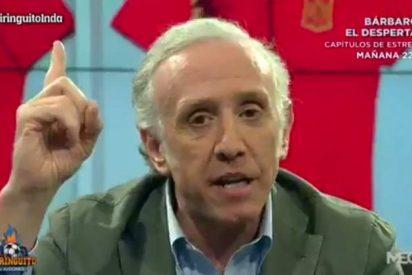 """[VIDEO] Inda sobre la camiseta 'republicana' de la Selección Española: """"Es repugnante"""""""