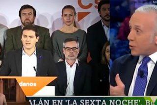 Inda abronca a Rivera por la patochada de arrimarse a Podemos