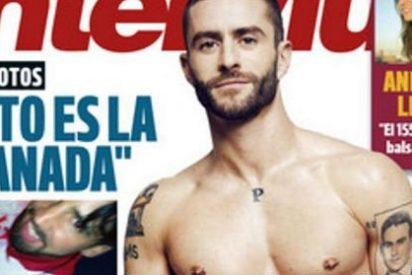 Loquísimo desnudo de Pelayo Díaz en 'Interviú'