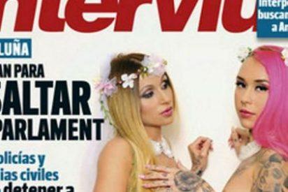 El desnudo más erótico y sin censura jamás visto en Interviú: Laura y Andrea de '¿QQCCMH?'
