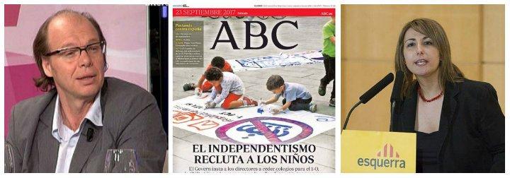 Jaime González deja seca a la responsable de la Infancia de la Generalitat que denunció a ABC por utilizar a menores