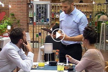 'First Dates': Juan se pone celoso de Matías en su cita con Inés