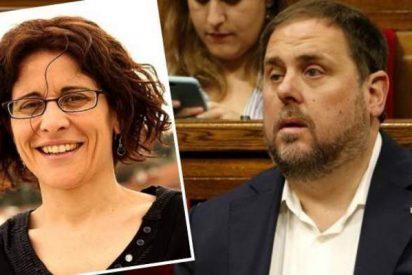 """La mujer de Oriol Junqueras pide la baja """"por enfermedad"""" y se encierra en casa"""