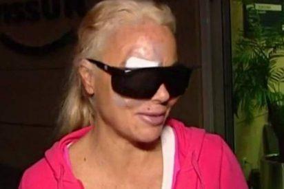 Leticia Sabater no sabía qué ojo le habían operado