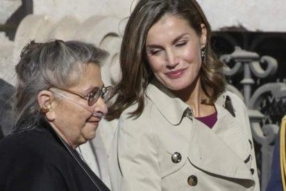 Bonitos gestos de Letizia con la Primera Dama de Israel, Nechama Rivlin