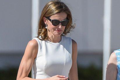 ¿Qué le pasa en los brazos a la Reina Letizia?