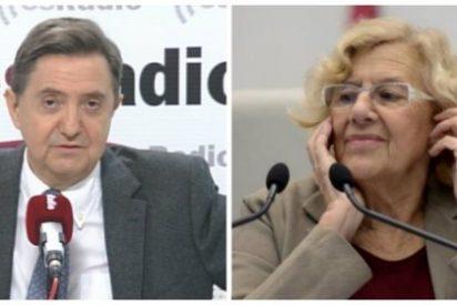 """Losantos, desatado contra Carmena: """"La única contaminación de Madrid es la basura política de esta gentuza"""""""