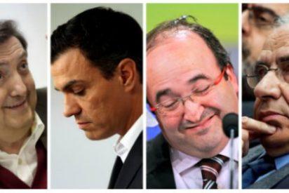 Losantos deja con el culo al aire a Iceta y Sánchez por la soberbia lección de españolidad desde el asilo del PSOE