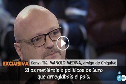 """'Salvame': Manolo Medina, amigo de Chiquito: """"Me he vacunado contra este programa"""""""