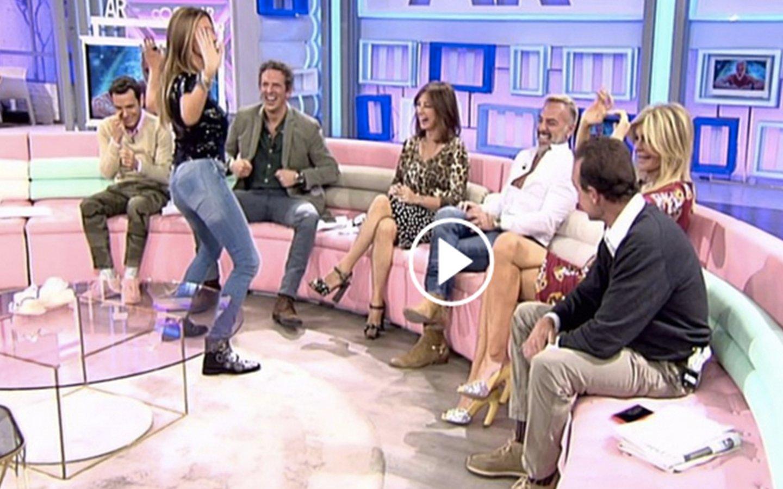 'AR': Marisa Martín-Blázquez se 'desfoga' con Gianlucca Vacchi ante una Ana Rosa perpleja