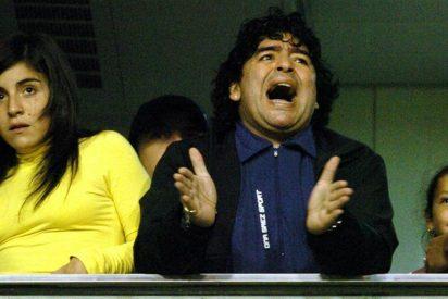 ¡Maradona quiere meter en la cárcel a su hija Gianinna!