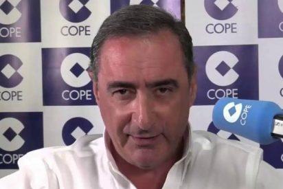 """Herrera critica los desmanes del """"demente de los bosques belga"""" y la chuleta Marta Rovira"""