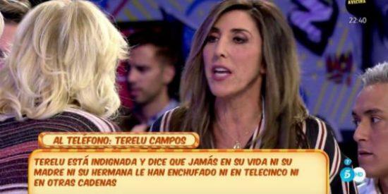 """Paz Padilla huye tras ser despellejada por Mila Ximénez: """"¡Me caes mal y reconoce que odias a Terelu!"""""""