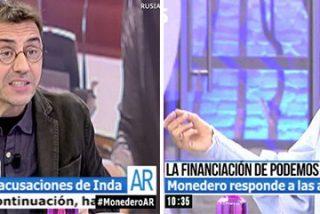 """El mayordomo de Chávez monta el numerito en 'AR': """"Eres una periodista mentirosa y trabajas para el PP"""""""