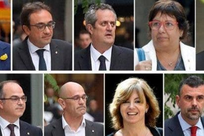 Estos son los miembros del extinto Govern independentista que duermen esta noche en la cárcel